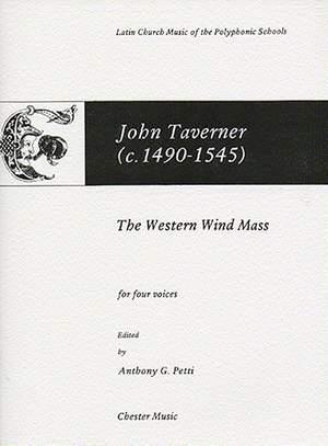 John Taverner: The Western Wind Mass