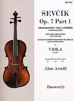 Otakar Sevcik: Viola Studies Op.7 Part1: Preparatory Trill Studie