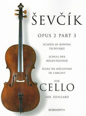 Otakar Sevcik: School of Bowing Technique for Cello Opus 2 Part 3