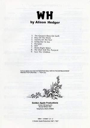 Alison Hedger: WH