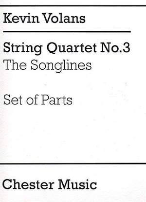 Kevin Volans: String Quartet No.3 'The Songlines' (Parts)