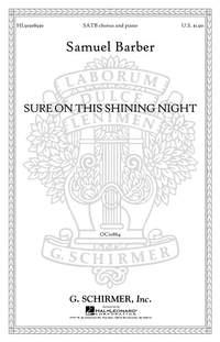 Samuel Barber: Sure On This Shining Night