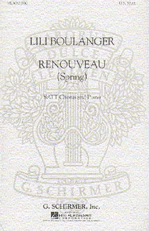 Lili Boulanger: Renouveau Spring