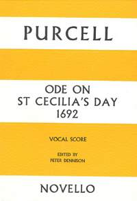 Henry Purcell: Ode On St Cecilia's Day