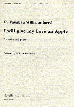 Ralph Vaughan Williams: I Will Give My Love An Apple