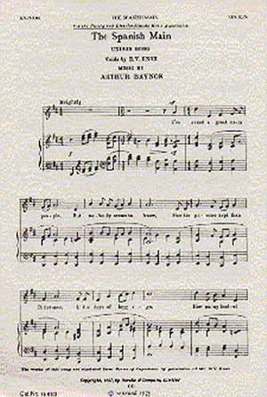 Arthur Baynon: The Spanish Main