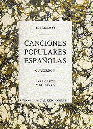 Canciones Populares Espanolas Cuaderno Iii