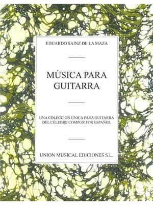 Eduardo Sainz de la Maza: Eduardo Sainz De La Maza: Musica para Guitarra