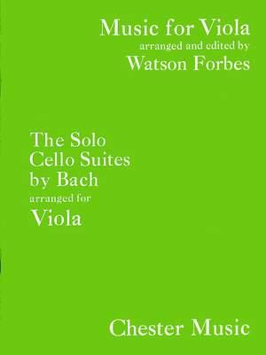 Johann Sebastian Bach: The Solo Cello Suites (Viola)