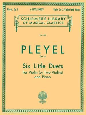 Ignace Pleyel: Six Little Duets, Op. 8