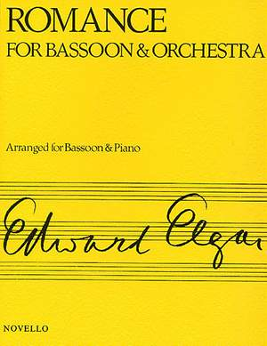Edward Elgar: Romance Opus 62 For Bassoon And Orchestra