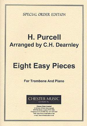 Henry Purcell: Eight Easy Pieces For Trombone And Piano