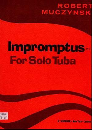 Robert Muczynski: Impromptus, Op. 23
