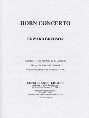 Edward Gregson: Concerto