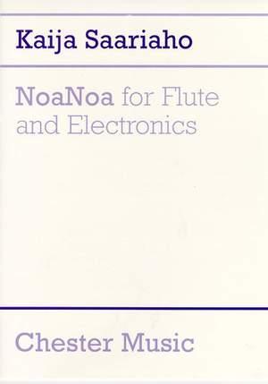 Kaija Saariaho: NoaNoa for Flute and Electronics