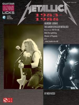 Nick Russo: Metallica - Legendary Licks 1983-1988