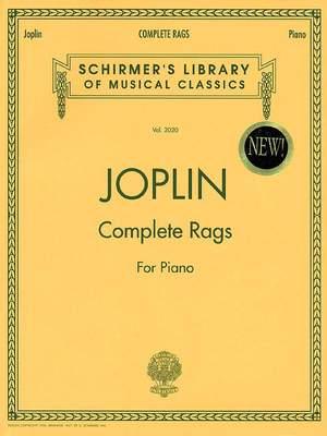 Scott Joplin: Complete Rags for Piano