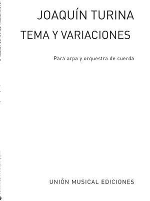 Joaquín Turina_Rafael Fruhbeck De Burgos: Tema Y Variaciones Opus 100 Numero 1