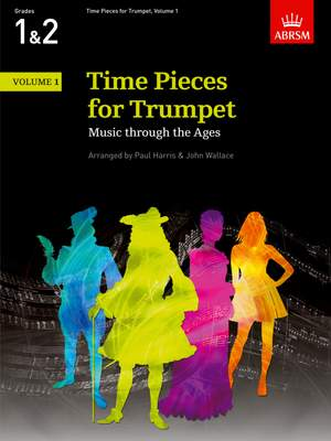 Paul Harris: Time Pieces for Trumpet, Volume 1 Product Image