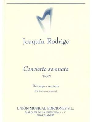Joaquín Rodrigo: Concierto Serenata Para Arpa Y Orquesta