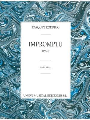 Joaquín Rodrigo: Impromptu
