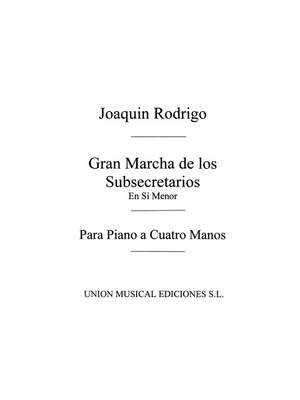 Joaquín Rodrigo: Gran Marcha De Los Subsecretarios