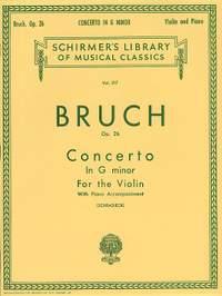 Max Bruch: Concerto in G Minor, Op. 26
