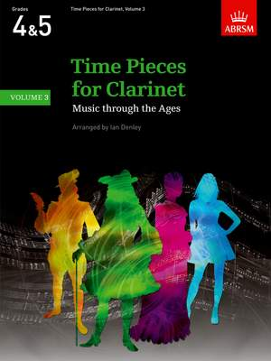 Ian Denley: Time Pieces for Clarinet, Volume 3