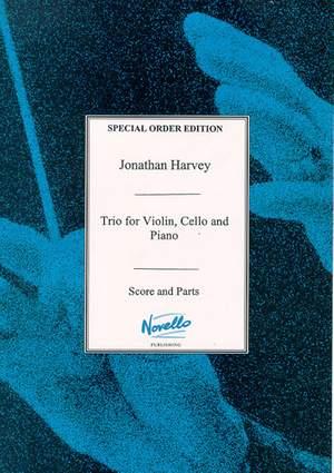 Jonathan Harvey: Piano Trio