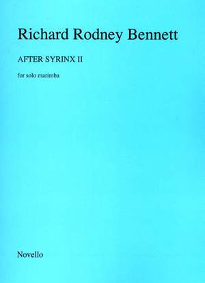 Richard Rodney Bennett: After Syrinx II