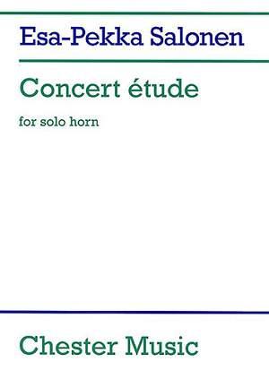 Esa-Pekka Salonen: Concert Etude For Solo Horn