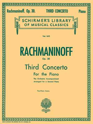Sergei Rachmaninov: Concerto No. 3 in D Minor, Op. 30