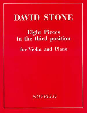 David Stone: Eight Pieces In Third Position