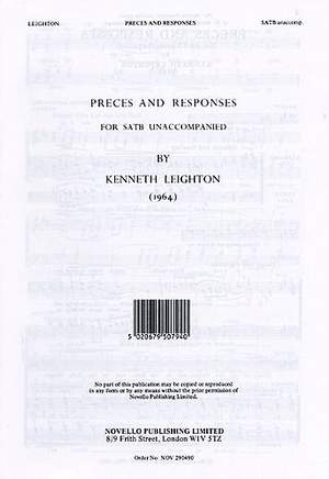 Kenneth Leighton: Preces And Responses