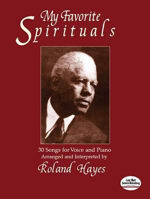 My Favorite Spirituals. 30 Songs Voice And Piano
