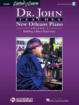 Dr. John Teaches New Orleans Piano - Volume 2