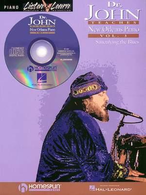 Dr. John Teaches New Orleans Piano - Volume 3