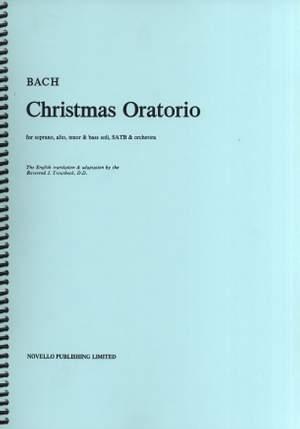 Johann Sebastian Bach: Christmas Oratorio Vocal Score (Troutbeck) Product Image