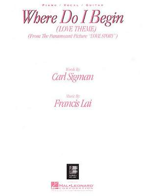 Francis Lai: Francis Lai-Carl Sigman: Where Do I Begin