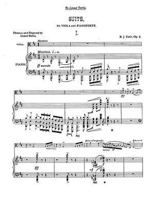 Benjamin Dale: Suite Op.2
