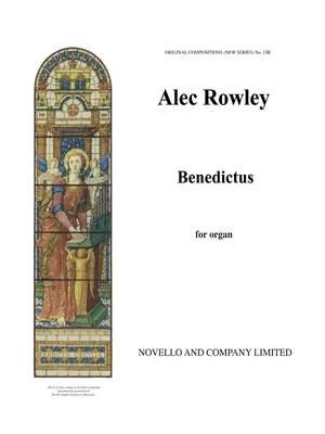 Alec Rowley: Benedictus For Organ