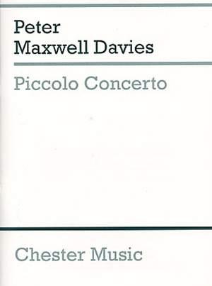 Peter Maxwell Davies: Concerto Piccolo