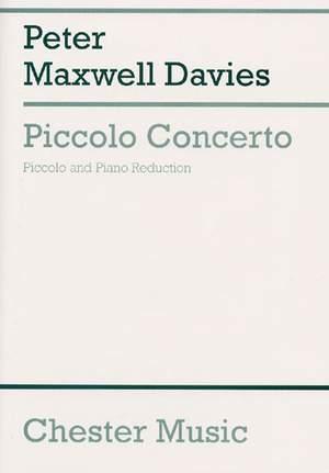 Peter Maxwell Davies: Piccolo Concerto