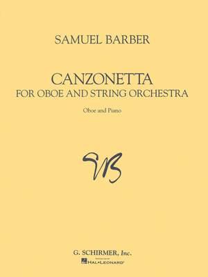 Samuel Barber: Canzonetta Op.48