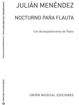 Julian Menéndez: Nocturo For Flute And Piano