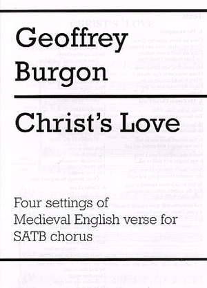 Geoffrey Burgon: Christ's Love