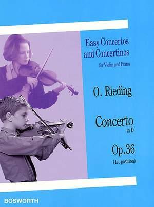 Oscar Rieding: Concerto in D Op. 36