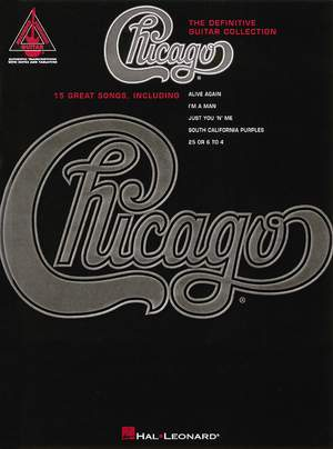 Chicago: The Definitive Guitar Collection