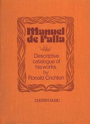 Ronald Crichton: Manuel De Falla