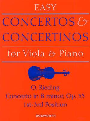 Oscar Rieding: Concerto in B minor Op. 35